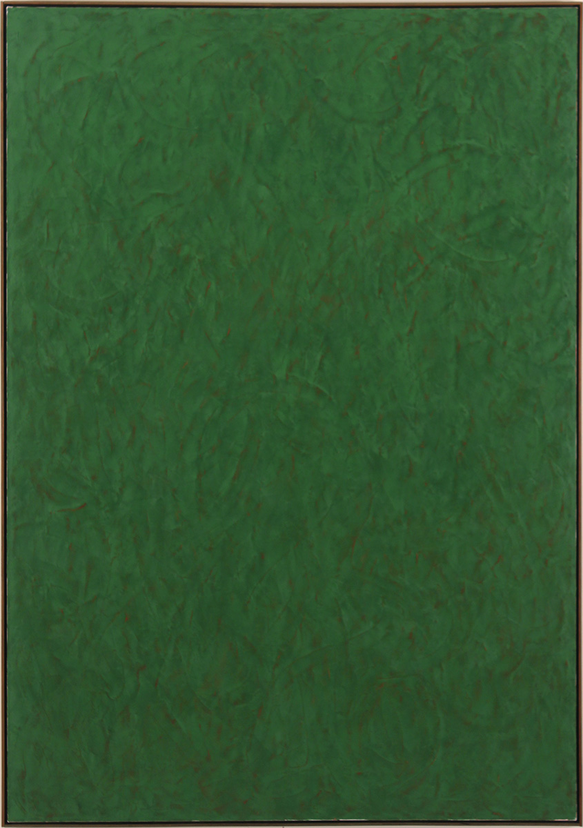 The Good Green 2016 - 17, 78 x 52 inch, 189 x 132 cm